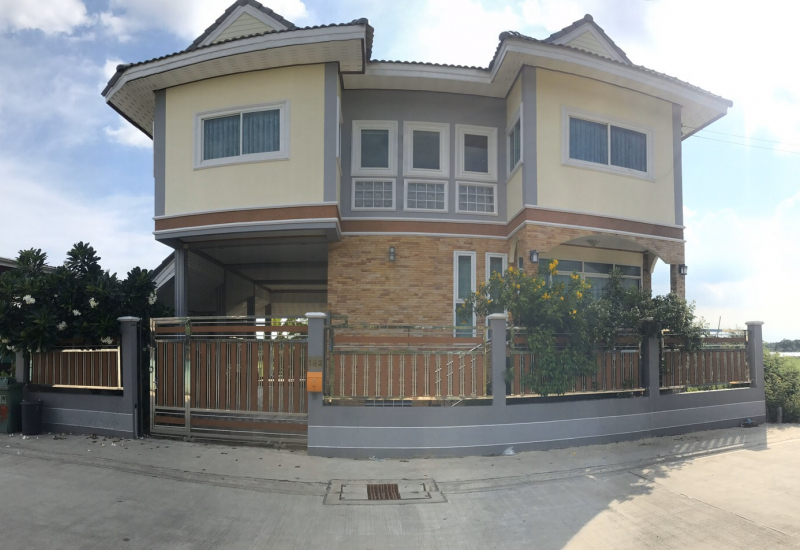 ขายด่วน บ้านเดี่ยว 2 ชั้นตบแต่งสวยงามพร้อมอยู่ สุวินทวงศ์ 7
