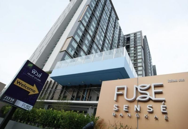 ห้องที่ Fuse Sense บางแค ขนาด 46 ตรม ชั้น 24 บนสุด มุมดี ห้องเดี่ยว ไม่ติดใคร ใกล้ MRT รับแดดเช้า