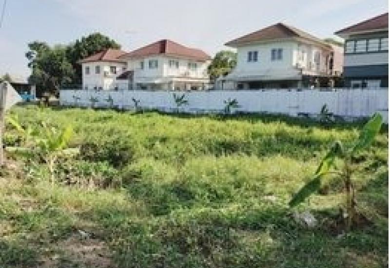 ขายที่ดินบางพูน ติดทางเข้าหมู่บ้าน มณีรินทร์ เอ็กซ์คลู ซีพพาร์ค(บางกะดี)