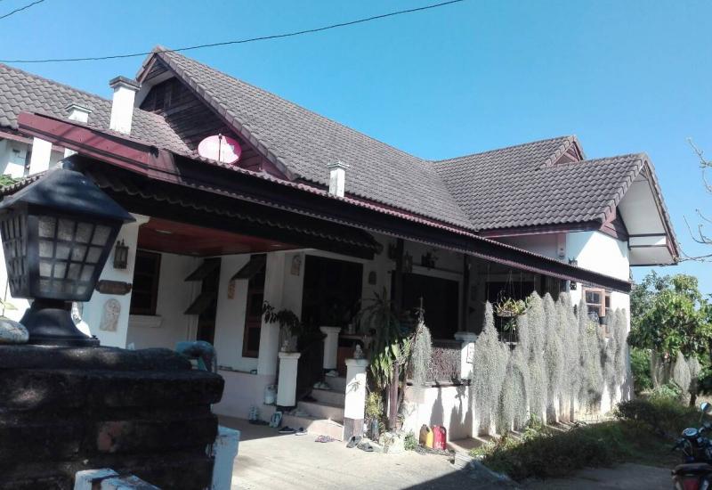 บ้าน 2 หลัง(เดี่ยว/ชั้นเดียว) ใกล้ ราชฎัชทีปังกร อ.แม่ริม เชียงใหม่